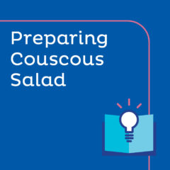 Lesson Plan - Preparing Couscous Salad