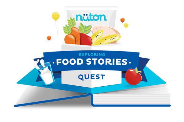 Exploring Food Stories: A Quest with Nüton! Logo