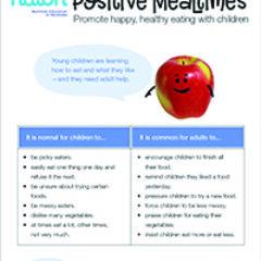 Positive Mealtimes Handout
