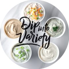 Dip into variety booklet